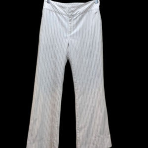 Banana Republic White with Black Stripes Size 4